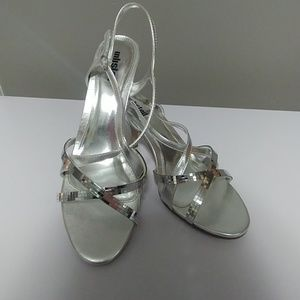 Unlisted size 11 silver heels